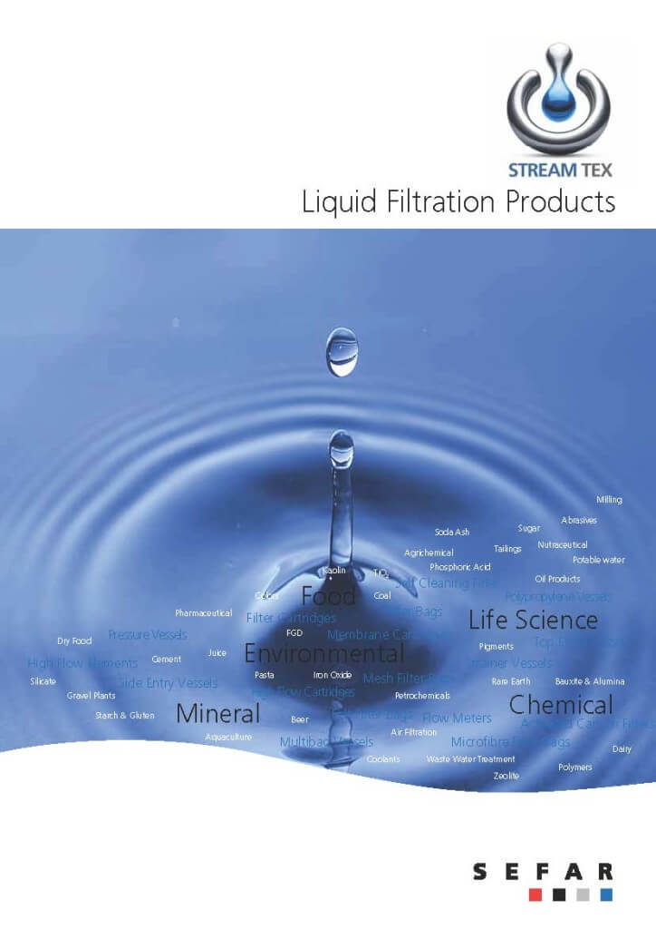 StreamTex Liquid Filtration